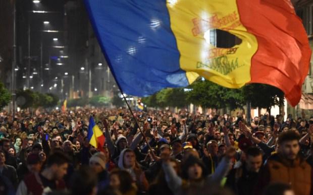 romania-protest