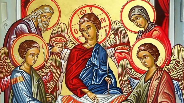 Αποτέλεσμα εικόνας για Μυστήριο της Αγίας Τριάδος.