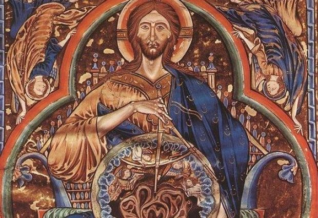 Pantocrator, Bible of St. Louis