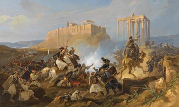Siège de l'Acropoles, Georg Perlberg
