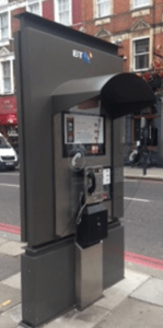 This takes up more room than a normal phone box