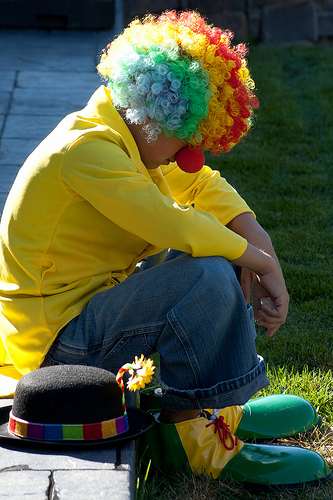 "Photo Credit: ""Sad Clown"" by Shawn Campbell"