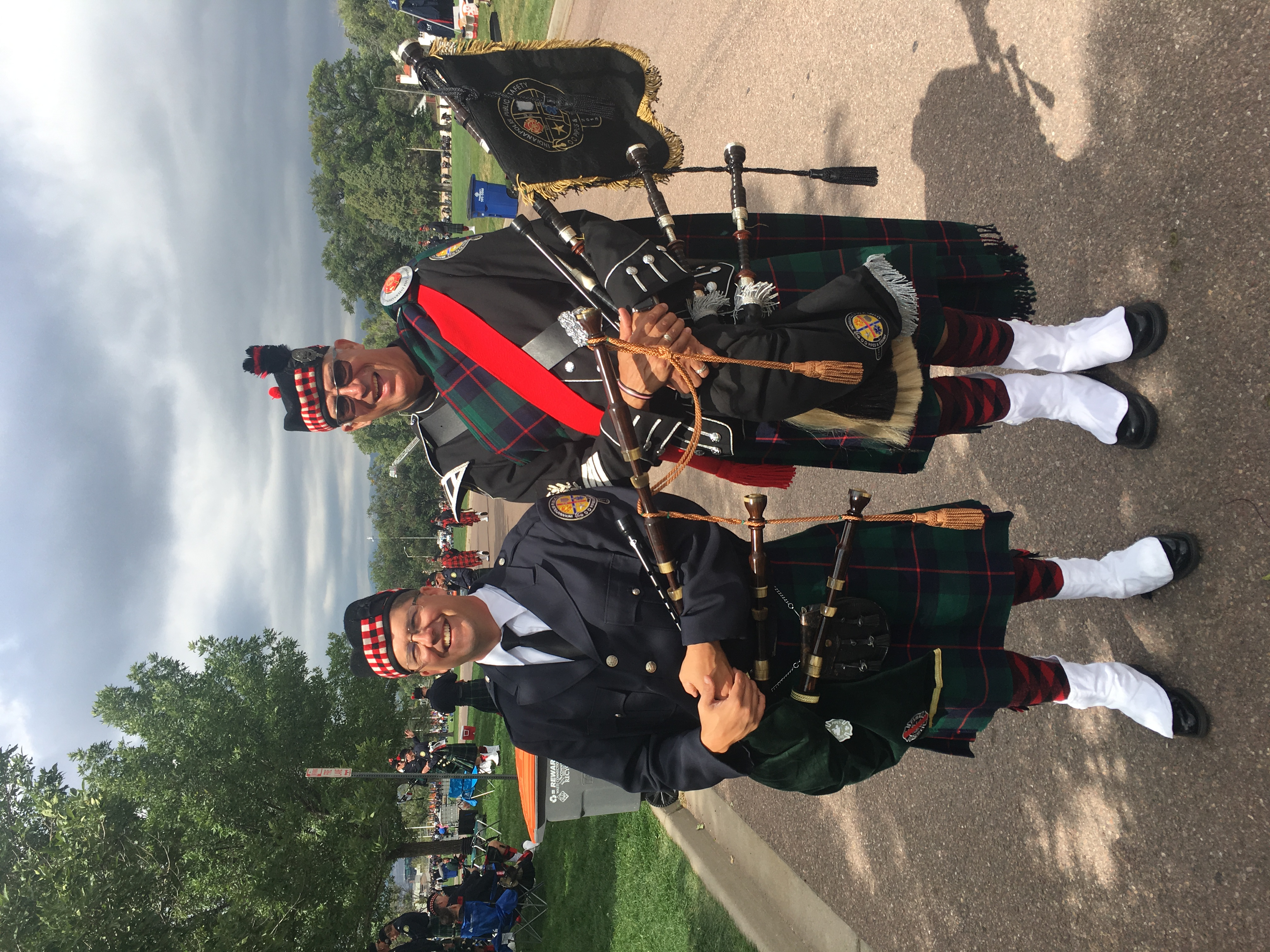 IAFF Fallen Firefighter Memorial – Indianapolis Public Safety Pipes and Drums