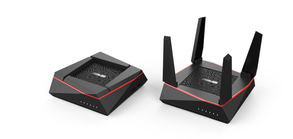 ASUS AiMesh AX6100 WiFi Router Review