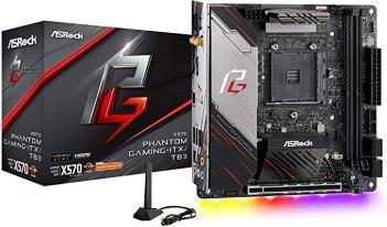 ASRock X570 Phantom Gaming-ITX/TB3 Mini ITX Thunderbolt 3