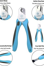 gonicc Dog & Cat Pets Nail Clippers and Trimmers
