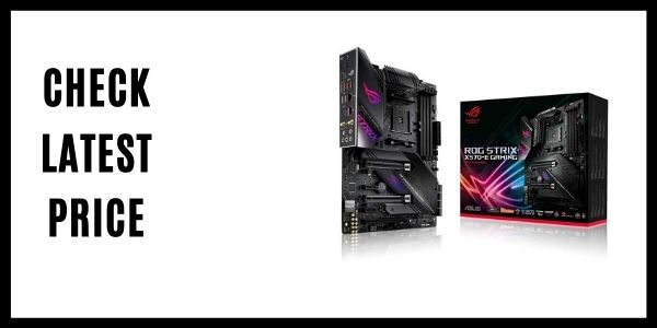 Asus ROG Strix X570-E Gaming ATX Motherboard with PCIe 4.0