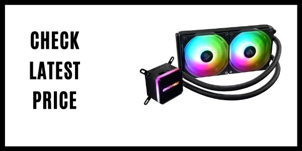 Enermax Liqmax III 240 - Dual 120mm Fan RGB Dual Chamber AIO CPU Liquid Cooler