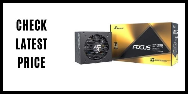 Seasonic FOCUS GX-650 650W Power Supply for Gaming