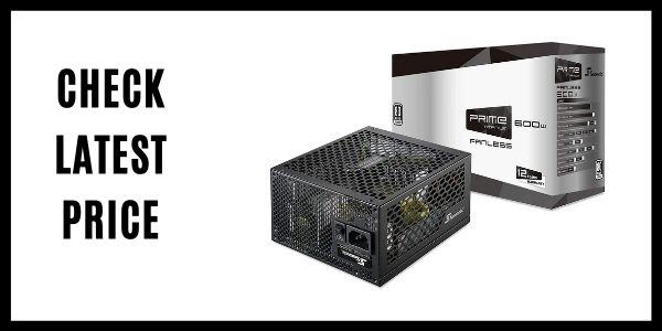 Seasonic PRIME 600 600W Fanless Power Supply