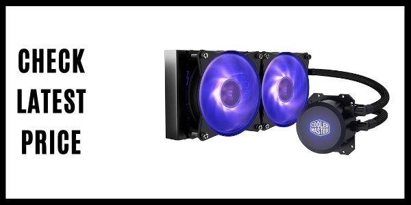 Cooler Master MasterLiquid ML240L RGB Closed-Loop CPU Liquid Cooler