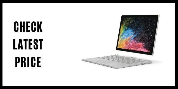 Microsoft HNL-00001 Surface Book 2 13.5 (Intel Core i7, 16GB RAM, 512 GB)