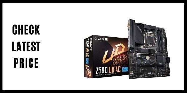 GIGABYTE Z590 UD AC LAN Motherboard)
