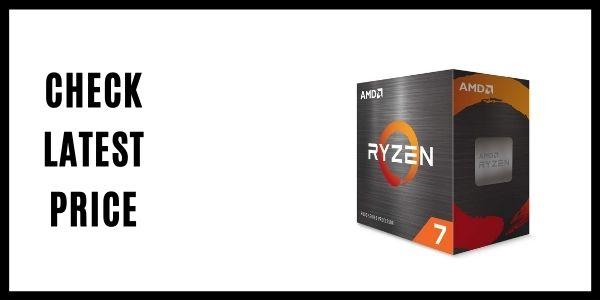 AMD Ryzen 7 5800X 8-core, 16-Thread Unlocked Desktop Processor