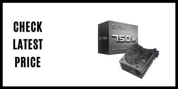 EVGA 750 N1 Power Supply 100-N1-0750-L1