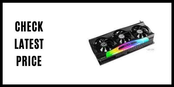 EVGA GeForce RTX 3080 Ti FTW3 ULTRA GAMING Video Card