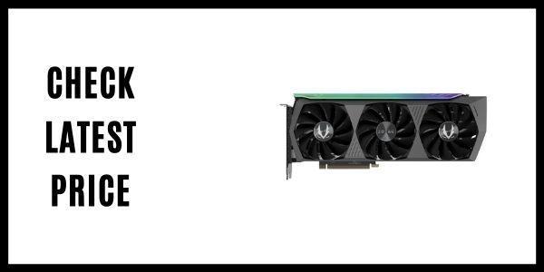 ZOTAC AMP Holo GeForce RTX 3080 Ti Video Card ZT-A30810F-10P