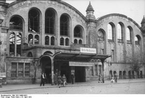 Nordbahnhof in 1952, Berlin © Peter Heinz Junge   German Federal Archives