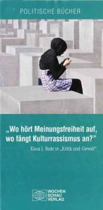 Brochure advertising Religion in Politik und Gesellschaft (Religion in Politics and Society) by Johannes Varwick, Stefan Schieren © wochenschau-verlag.de