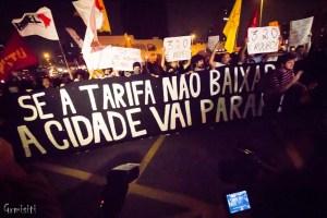 Movimento Pelo Passe Livre protest in Brazil, July 6, 2013 © Gianluca Ramalho Misiti   Flickr