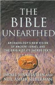 Book cover of The Bible Unearthed © Touchstone | Amazon.com