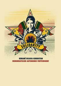 Poster of Kobane Rojava Kurdistan resistance © seven resist   Flickr