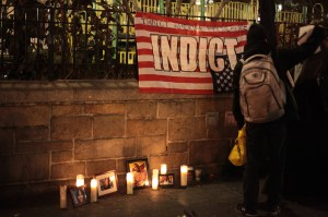 Memorial to Michael Brown and others killed by police, New York City, Nov. 25, 2014 © Jesse Chan-Norris | Flickr