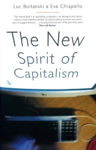 Book cover of The New Spirit of Capitalism by Luc Boltanski, Eve Chiapello, translated by Gregory Elliott © Verso   Amazon