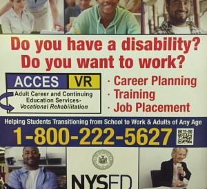 NYSED disability campaign subway advertisement (full size) © Zachary Sunderman | Courtesy of the photographer