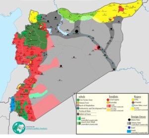 The Situation in Syria © Thomas van Linge   Wikimedia Commons