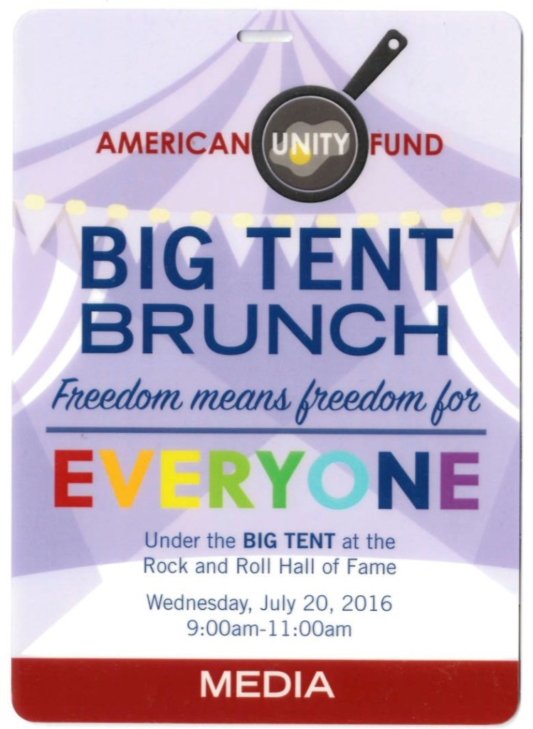 Big Tent brunch ticket