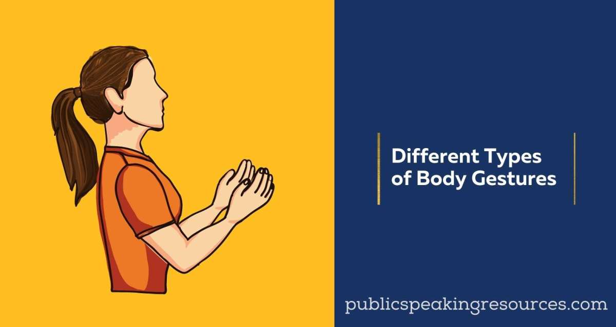 Different types of body gestures