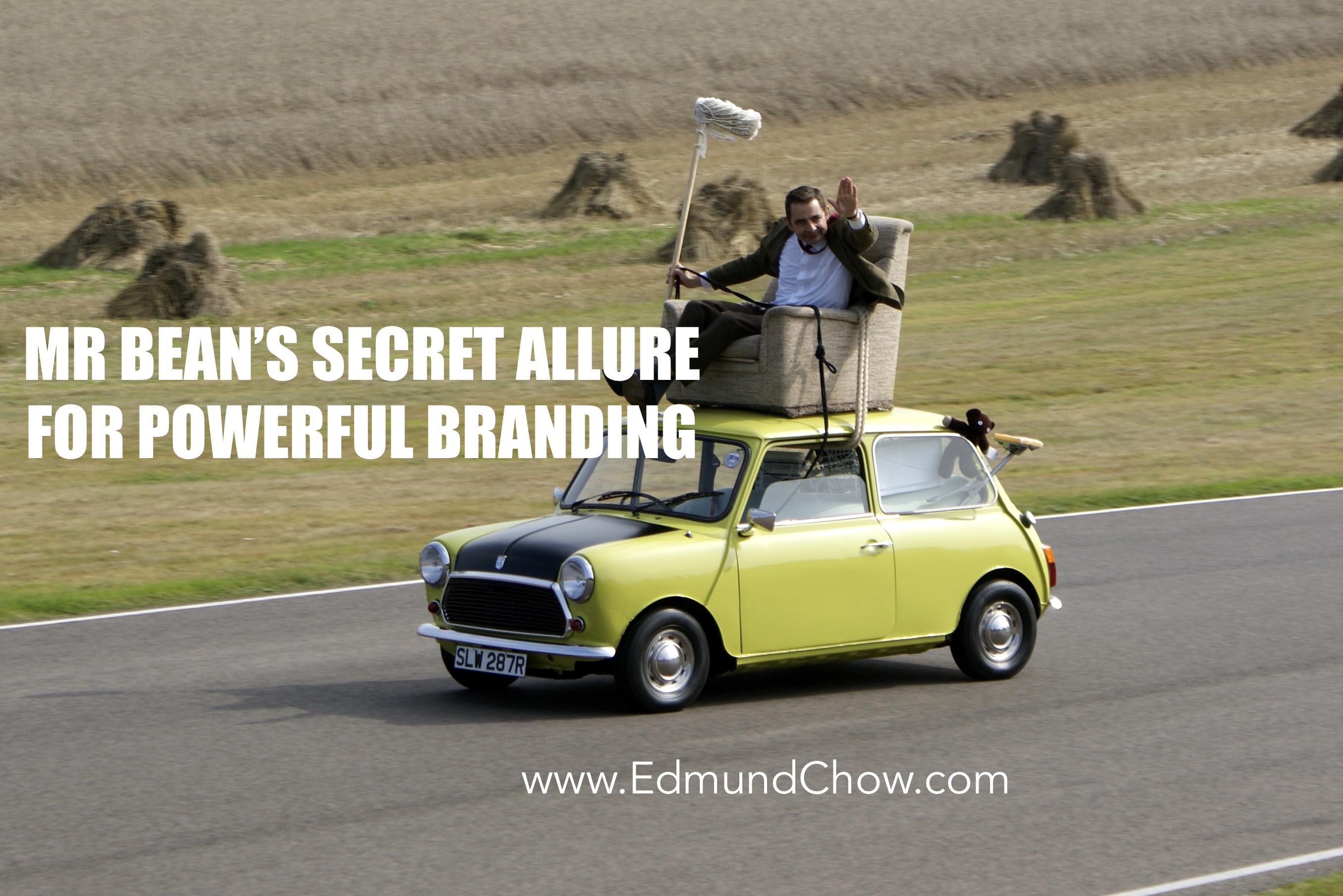 Storytelling and Story Selling: Mr Bean's Secret Allure for Powerful Branding