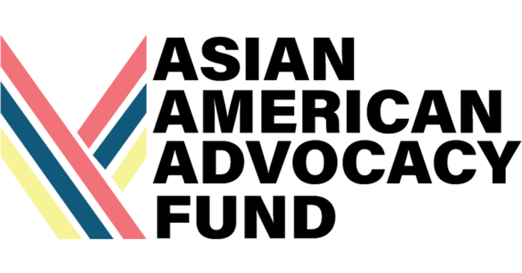 Logo for Asian American Advocacy Fund