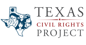 Logo for Texas Civil Rights Project