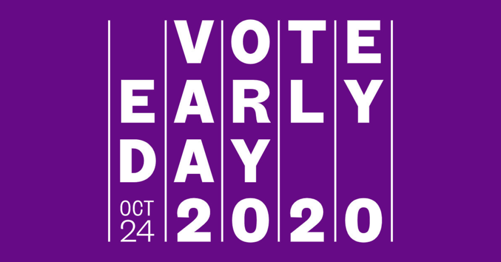 Logo for Vote Early Day