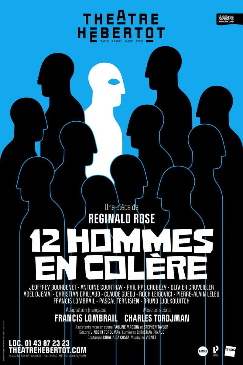 12 Hommes En Colère Film : hommes, colère, Adaptation, Théâtrale, Asphyxiante, Hommes, Colère, Théâtre, Hebertot