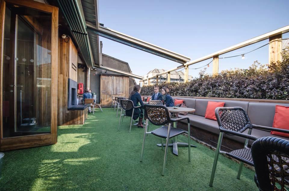 10 great rooftop beer gardens in Dublin  Publin