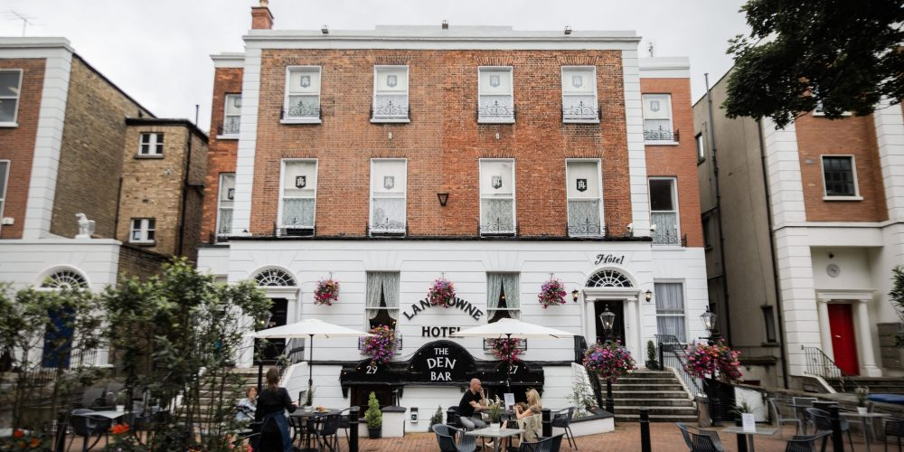 Outdoor space and lots of it.                                 There's a Baggot Street Bar with many                                 qualities that you may have overlooked.