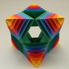 Cool Modular Origami Diagram Nissan Wiring Stereo Ball Instructions 1 By Origamimodulowe Deviantart Com On