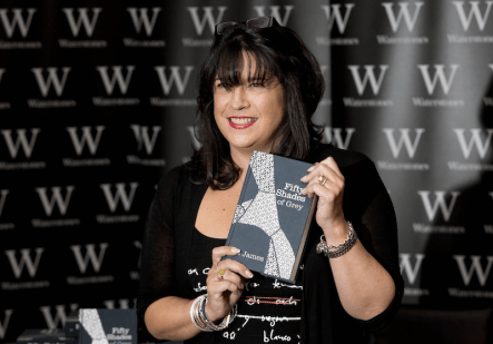 EL James: self-publishing success story with 50 Shades of Grey