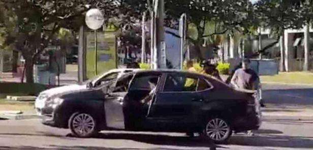 Bolsonarista é preso por ataque ao STF com fogos de artifício