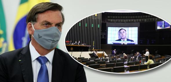 Jair Bolsonaro e Câmara dos Deputados