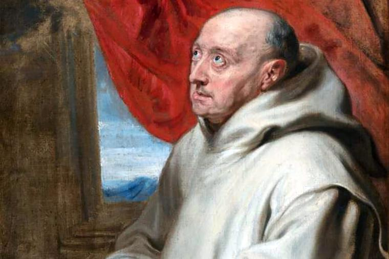 "Anthony van Dyck, ""Saint Bruno Praying,"" ca. 1620"