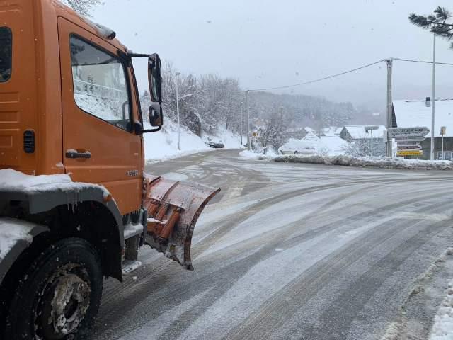 Kolašin, čišćenje snijega