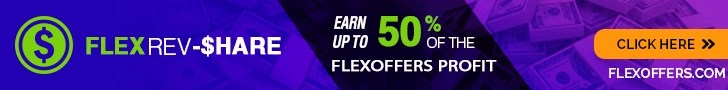 FlexRev Share - Earn up to 50% of the FlexOffers profit for referrals