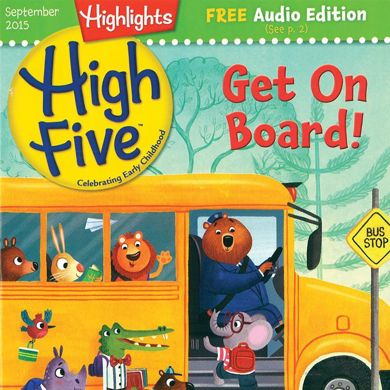 HIGHLIGHTS HIGH FIVE | Highlights For Children.Inc. | Stories & Learning Activities Term 1 Year Type New