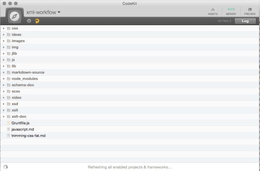 Codekit Project UI