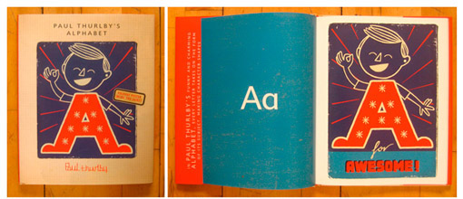 A is for Awesome Paul Thurlby on Making the Alphabet New  Publishing Perspectives