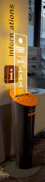 A Short Édition dispenser in Grenoble. Image provided by Short Édition
